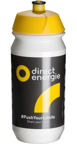 Tacx Shiva Bio Vannflaske 500ml Team Direct Energie Gul/Svart